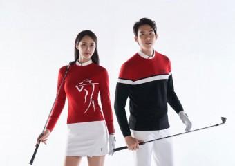 PGA TOUR & LPGA 골프웨어, 필드 위의 자신감 '밸런스 니트' 선보여